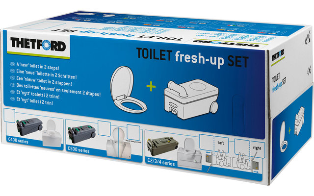 Thetford Fresh-Up Set für Cassettentoilette