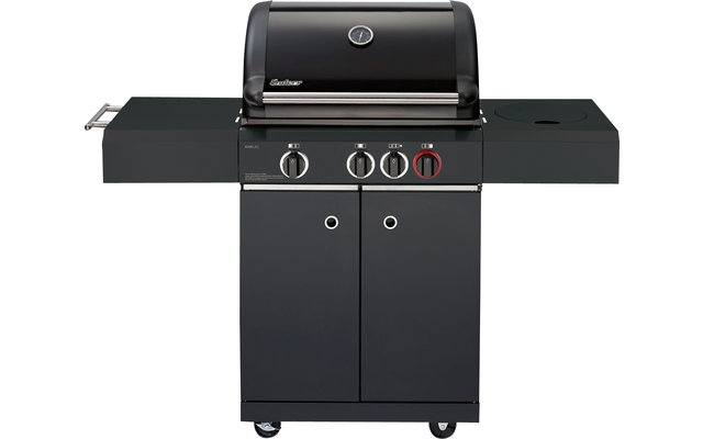 Enders Gasgrill Fritz Berger : Enders gasgrill kansas black 3 k turbo fritz berger campingbedarf
