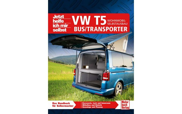 buch vw t5 wohnmobil selbstausbau fritz berger. Black Bedroom Furniture Sets. Home Design Ideas