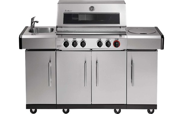 Enders Gasgrill Kansas Pro 4 SIK Profi Turbo 50 mbar