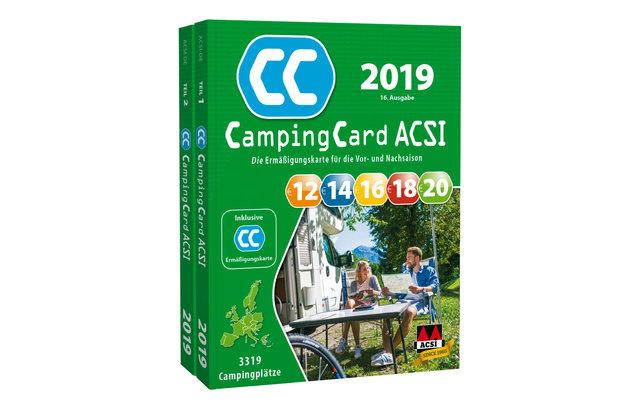 Acsi Karte.Acsi Campingfuhrer Campingcard 2019