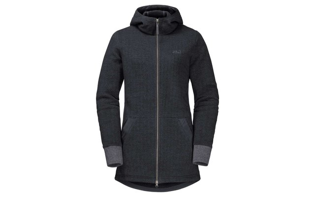 differently popular brand cheap Jack Wolfskin Damen Fleecemantel Patan long