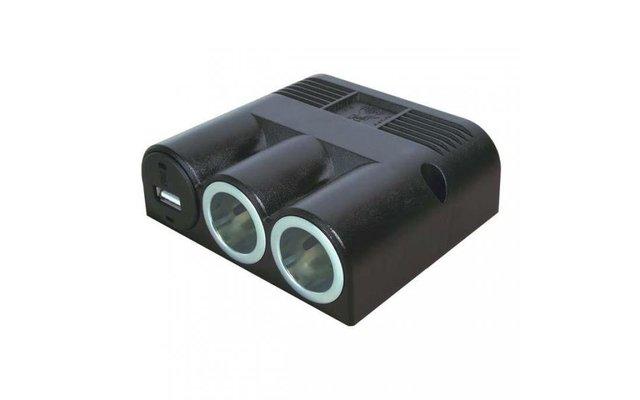 aufbau dreifachsteckdose mit usb steckdose fritz berger. Black Bedroom Furniture Sets. Home Design Ideas