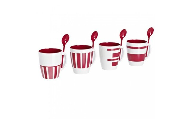Becher Set Sierra red 4-tlg.