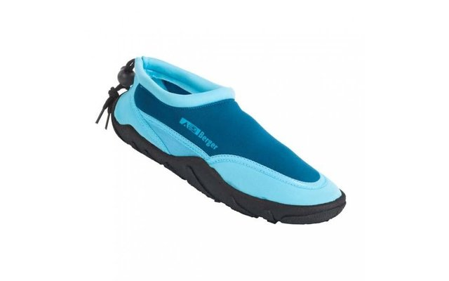 Berger Damen-Neoprenslipper hellblau