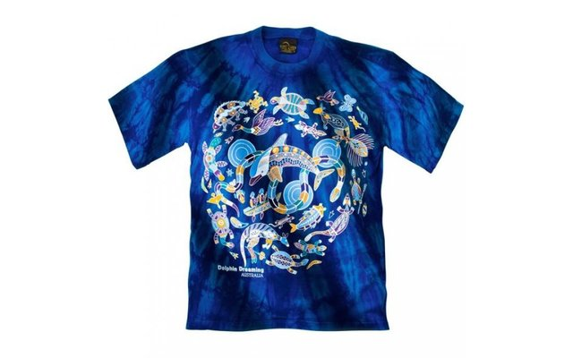 Churinga T-Shirt Dolphin Dreaming
