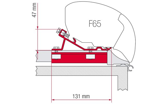 F65 Kit Fixing-Bar