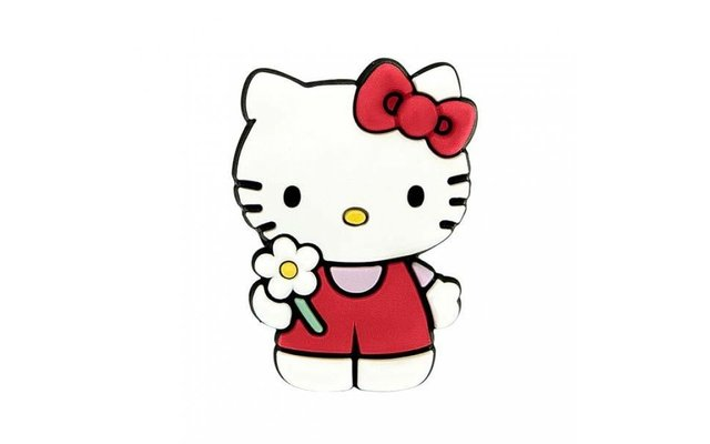 Hello Kitty mit Blume