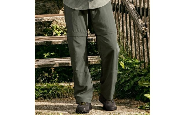 Herrenhose Canyon Zip Off oliv