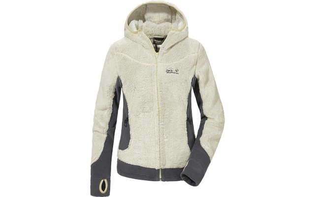 Jack Wolfskin Damen-Fleecejacke Kodiak anthrazit