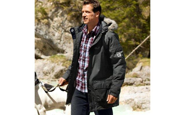 fantastic savings lowest price official Jack Wolfskin Herren-Parka Fairbanks anthrazit