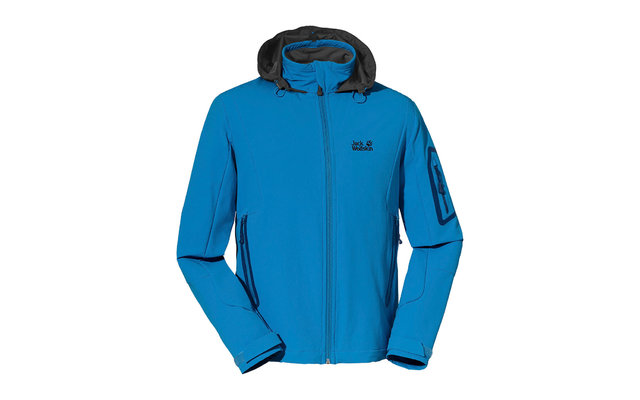 Jack Wolfskin Herren-Softshelljacke Muddy Pass XT brilliant blue
