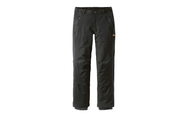 Jack Wolfskin Herrenhose Activate Winter schwarz