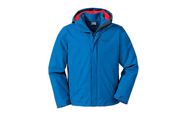 Jack Wolfskin Herrenjacke Crush`n Ice blau
