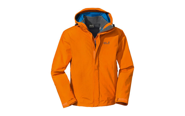 Jack Wolfskin Herrenjacke Crush`n Ice orange