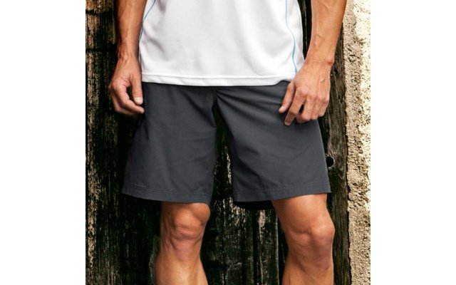 Regatta Herrenshort Latice grau