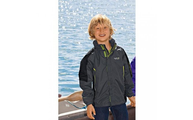 Regatta Kinder-Funktionsjacke Mainframe grau