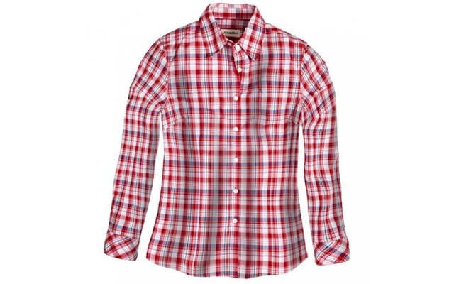 Schöffel Damen-Bluse Heather rot kariert
