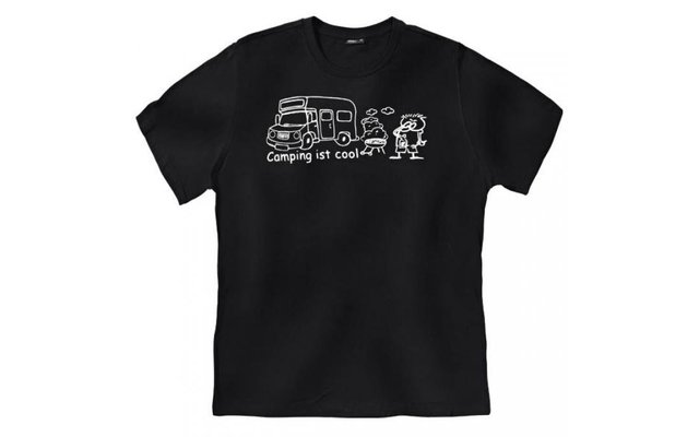 T-Shirt Wohnmobil Camping ist cool