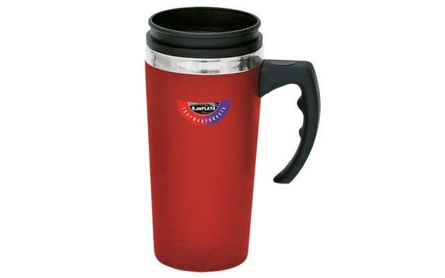 "Thermo Reisebecher ""Universum"" 0,4l rot"