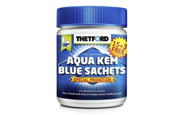 Thetford Aqua Kem Blue Sachets 18er Fritz Berger