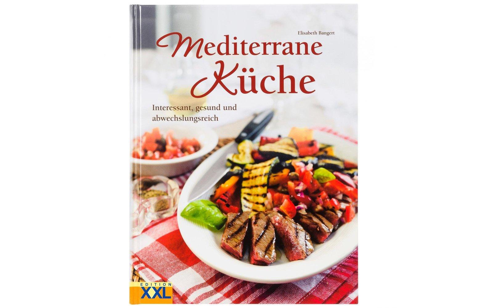 buch mediterrane küche - fritz berger campingbedarf