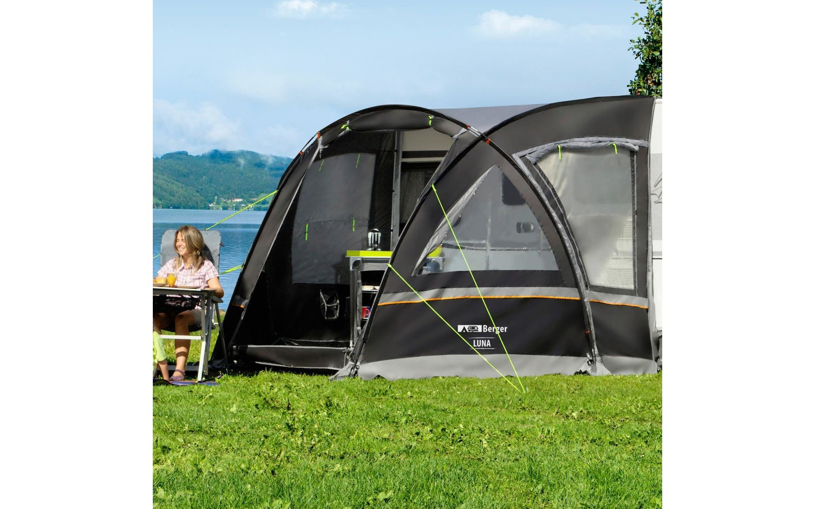 reisevorzelt luna fritz berger campingbedarf. Black Bedroom Furniture Sets. Home Design Ideas