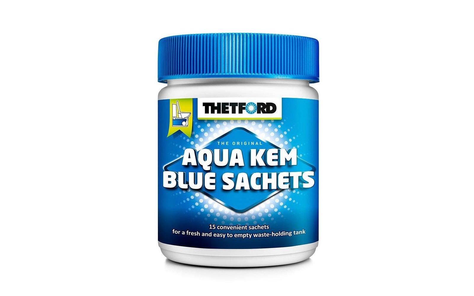thetford aqua kem blue sachets 15er fritz berger. Black Bedroom Furniture Sets. Home Design Ideas