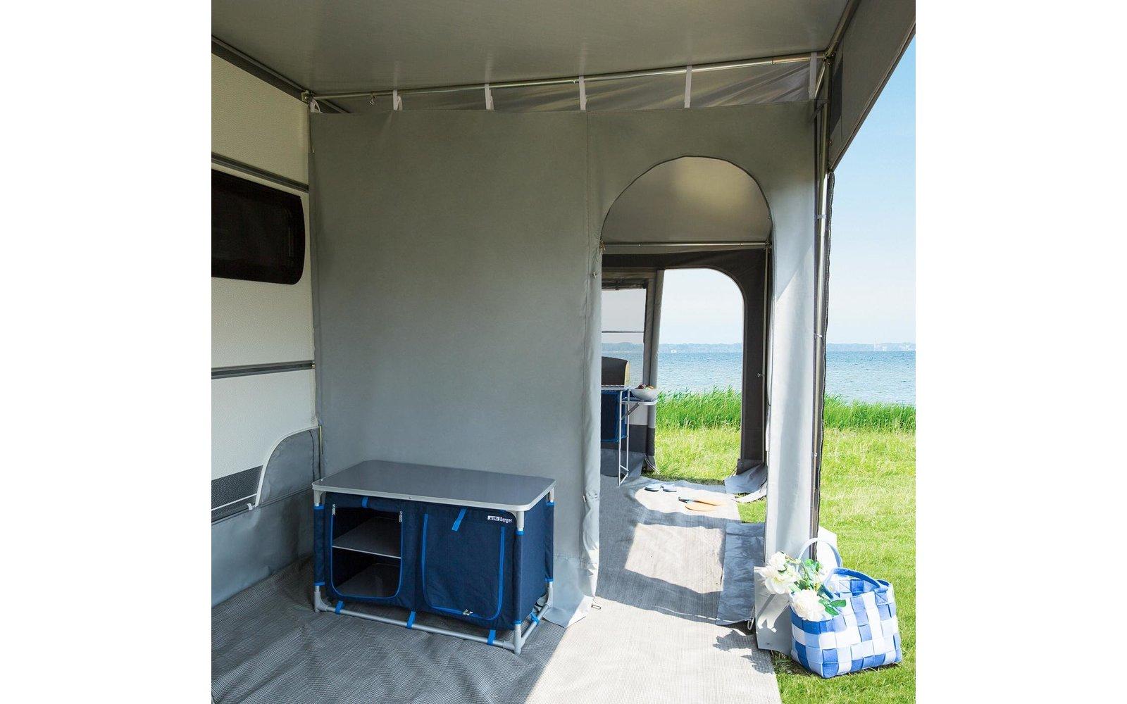 trennwand f r vorzelte fritz berger campingbedarf. Black Bedroom Furniture Sets. Home Design Ideas