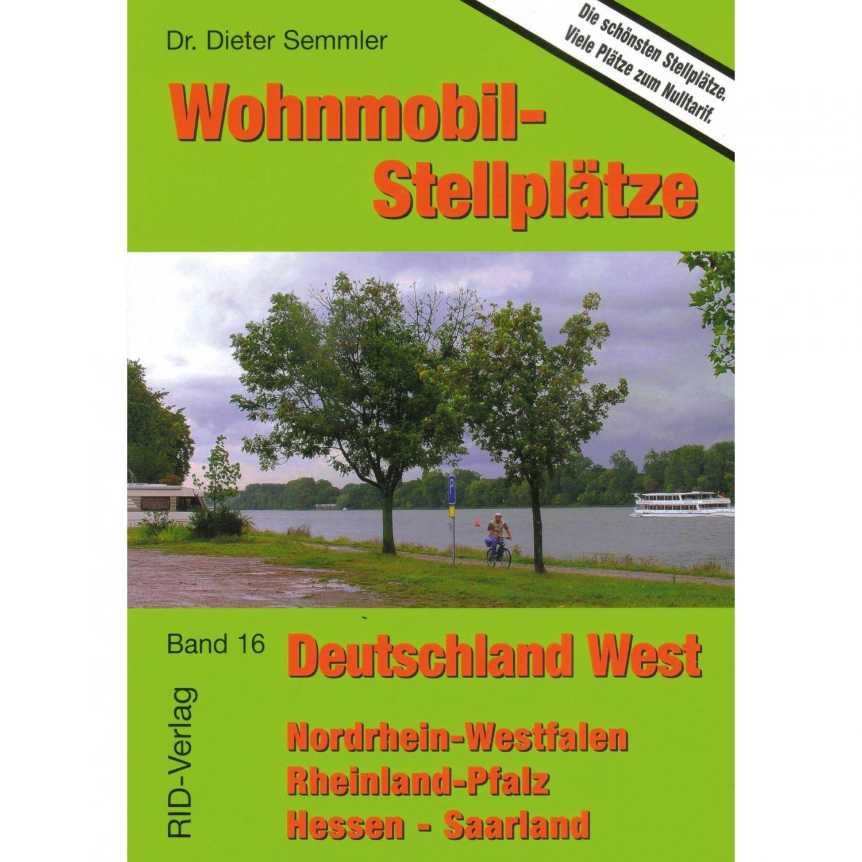 Wohnmobilstellplätze Deutschland West