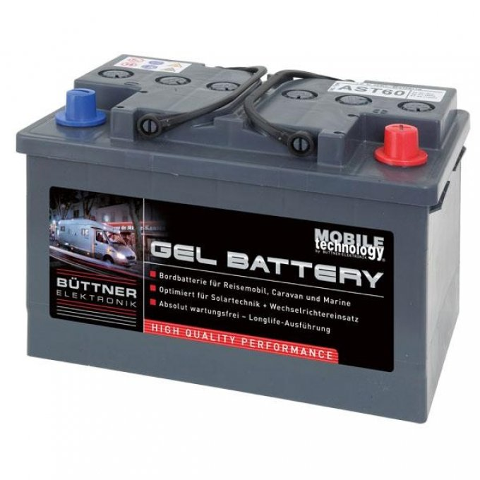 Büttner MT-Gel-Batterie 130 Ah