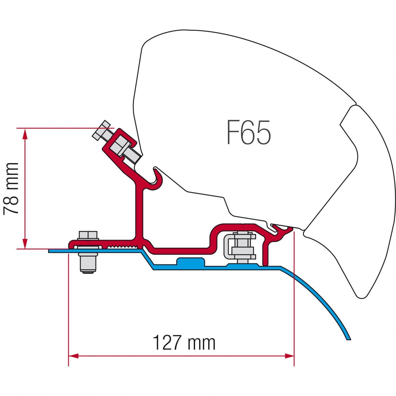 F65 Kit Fiat Ducato - Citroen Jumper - Peugeot Boxer H3 (ab 2006)