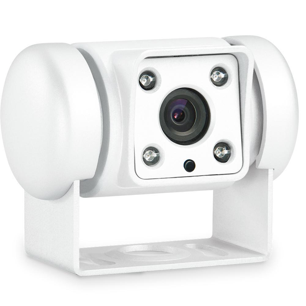 CAM45W CCD Rückfahrkamera weiß
