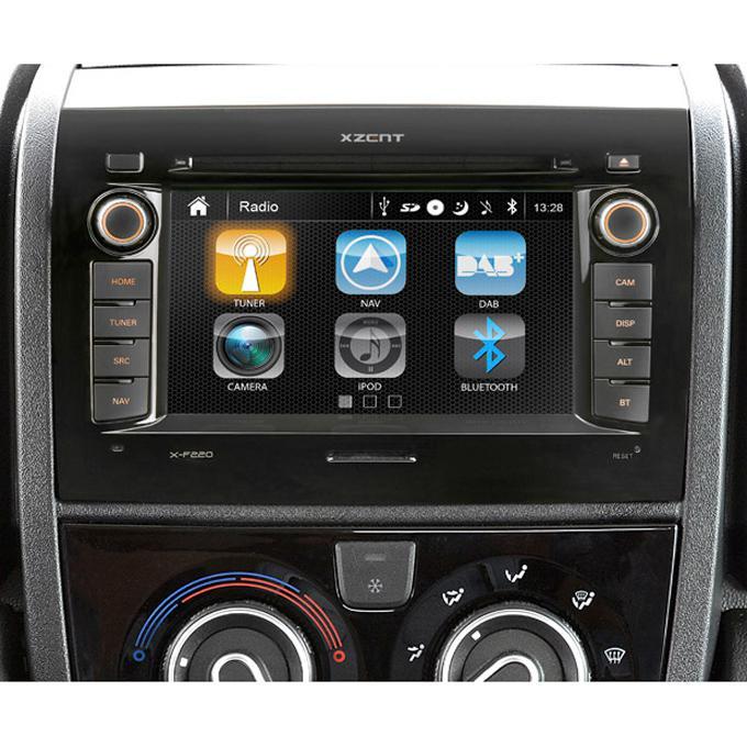 Xzent Navigationssystem X-F220 für Fiat Ducato