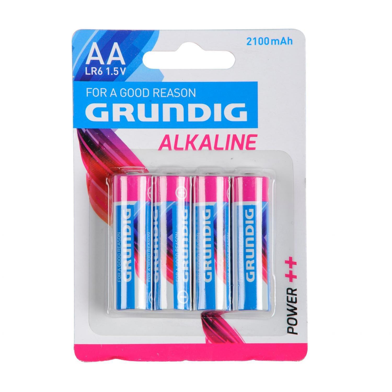 Grundig Alkaline Batterie Mignon AA