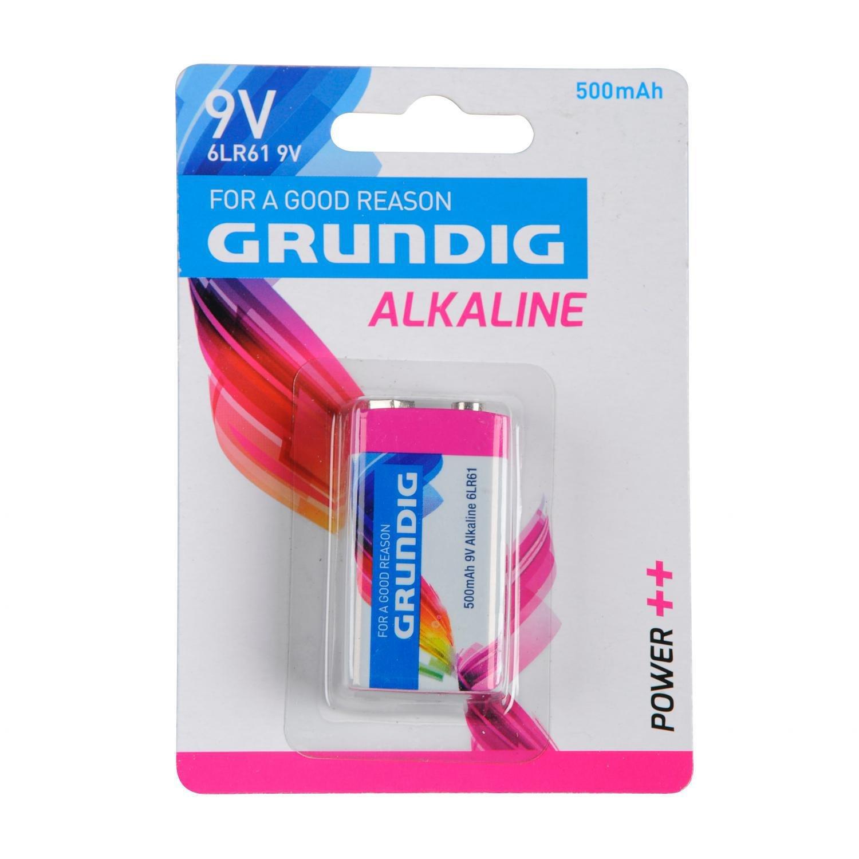 Grundig Alkaline Batterie E-Block 9V