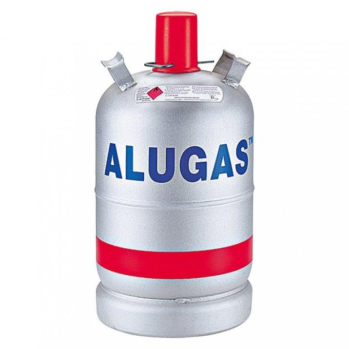 gasflasche aluminium 11 kg unbef llt aluflasche wohnwagen propan camping grill ebay. Black Bedroom Furniture Sets. Home Design Ideas