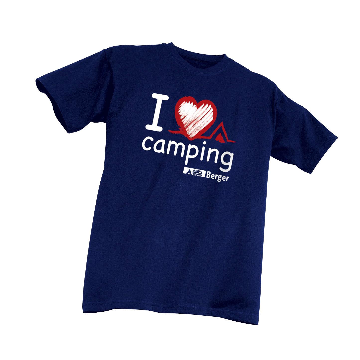 Kinder-T-Shirt I love Camping bei Fritz-Berger.de
