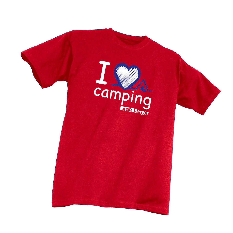 Kinder-T-Shirt I love Camping | 04036231005886