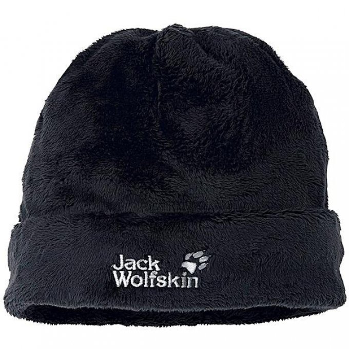 Jack Wolfskin Damenmütze Soft Asylum schwarz