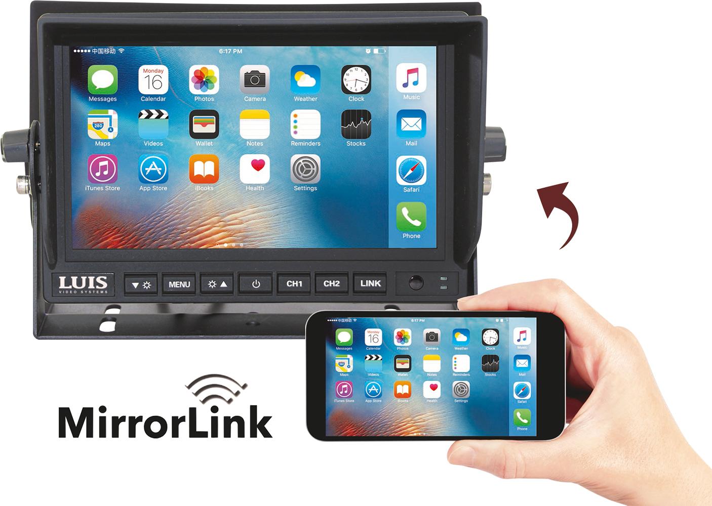 Rückfahrsystem MirrorLink Professional