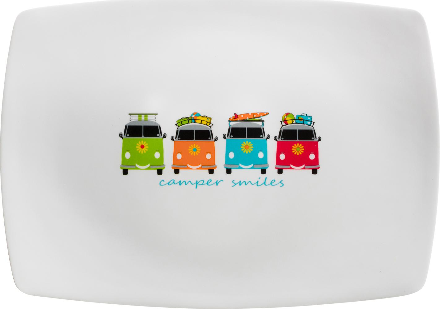 Flamefield Tablett Campers Smiles