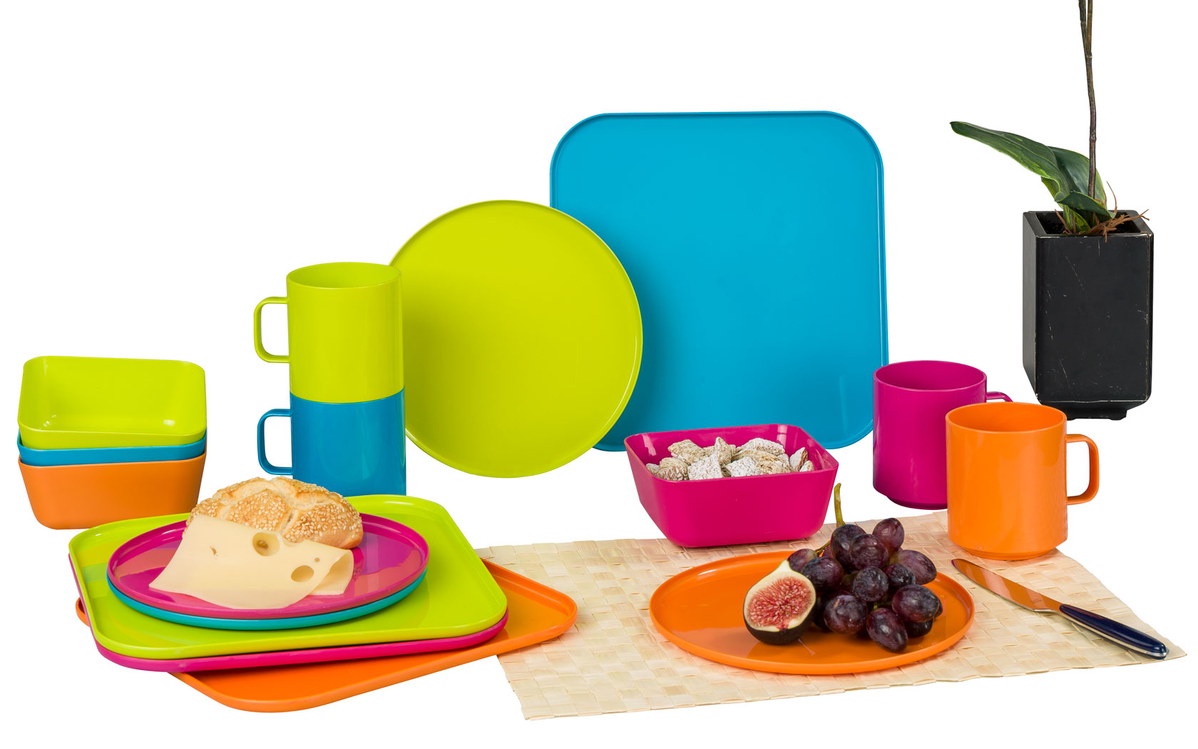 Berger Kunststoff Geschirr-Set 16-tlg. | 04036231045561