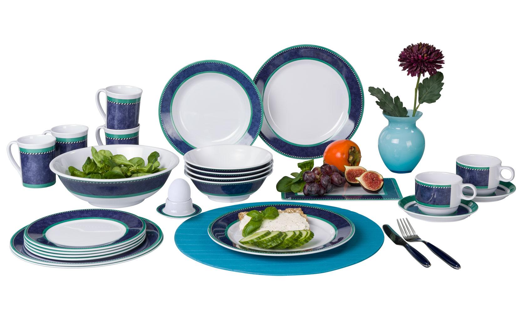 Set Marble blue 16 tlg. | 04024374625665