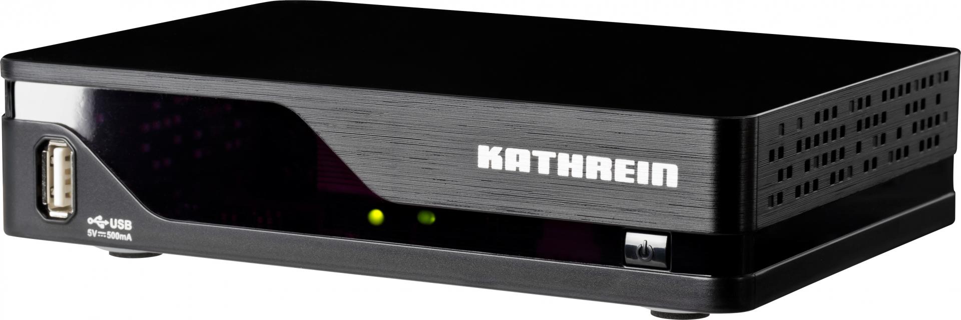 kathrein dvb t2 hd receiver uft 930sw camping fernseher. Black Bedroom Furniture Sets. Home Design Ideas