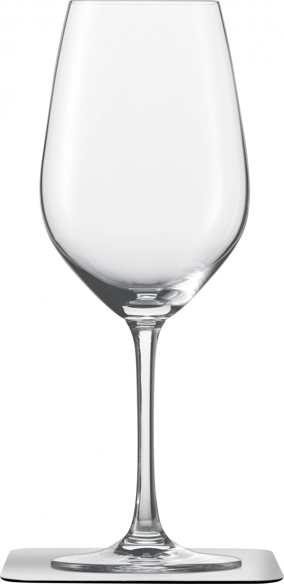 Kristall Wein-Magnetgläser mit Untersetzer 2er Set Preisvergleich