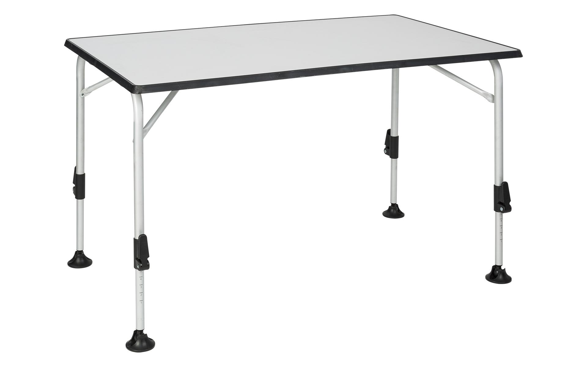 berger tisch ivalo alu campingtisch balkontisch h henverstellbar klapptisch grau ebay. Black Bedroom Furniture Sets. Home Design Ideas