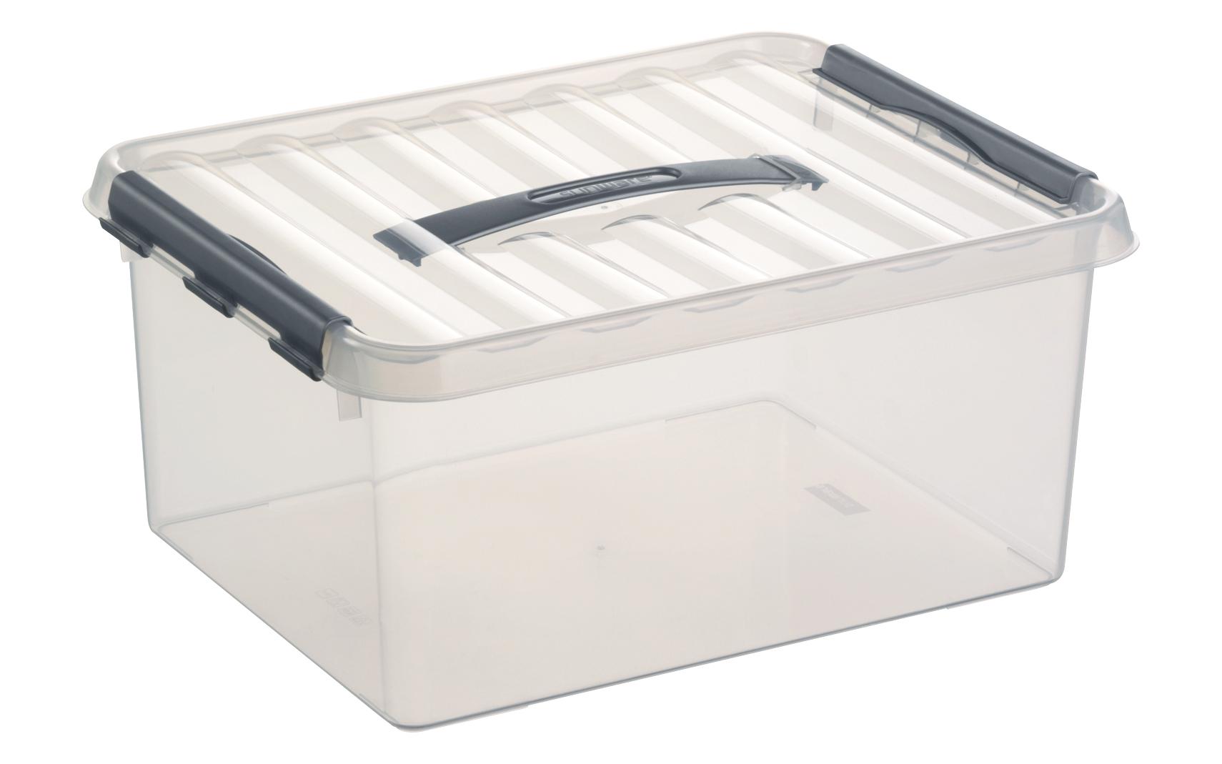 preisvergleich 6 x sunware aufbewahrungsbox mit deckel. Black Bedroom Furniture Sets. Home Design Ideas
