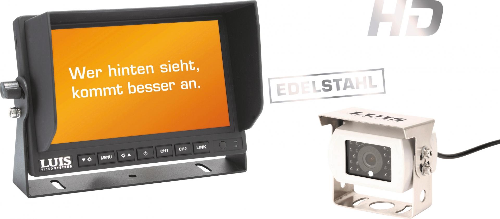 LUIS 7´´-HD-Rückfahrsystem Professional