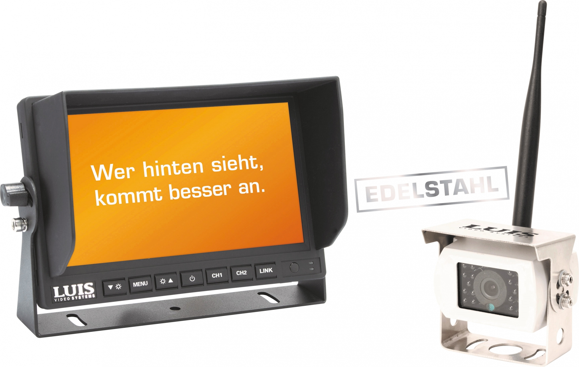 LUIS 7´´-Digitalfunk-Rückfahrsystem Professional